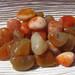 Tumbled Carnelian stones