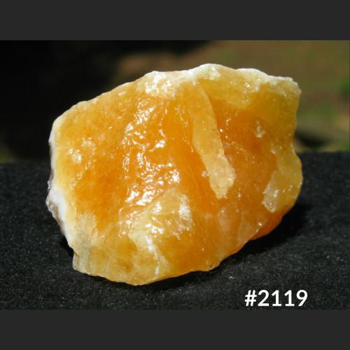 Rough Orange Calcite Chunk #2119