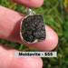 Moldavite Raw Pendant