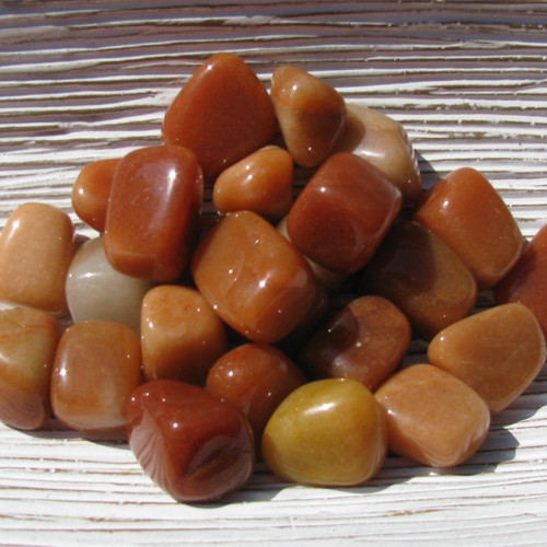 Tumbled Red Aventurine
