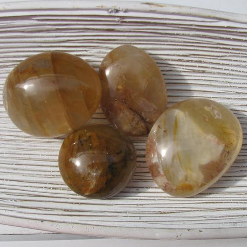 Yellow Hematoid Pebbles, Golden Healers
