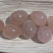 Rose Quartz Polished Eggs