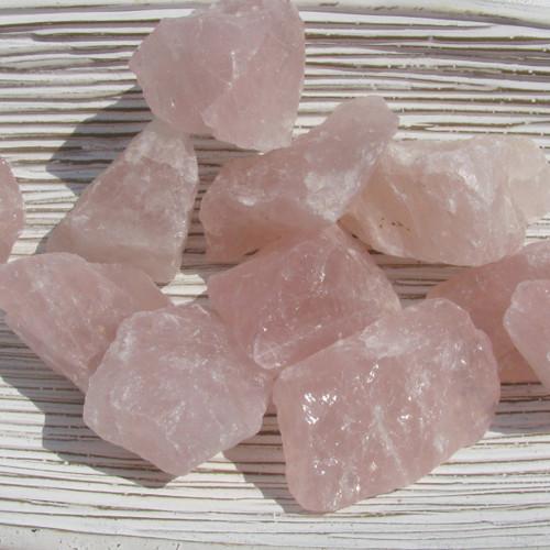 Rose Quartz Small Rough Chunks