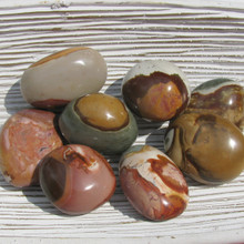 Polychrome Tumbled Pebbles