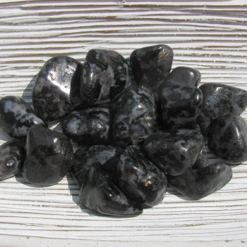 Indigo Gabbro Tumbled Stones