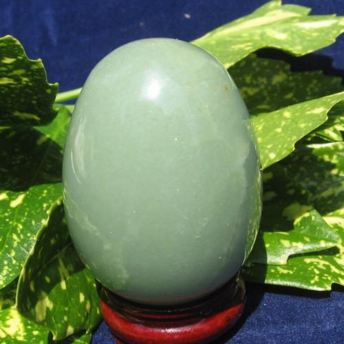 Green Aventurine 35mm eggs