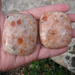 Sunstone Pillow Stones, Square Palm Stones