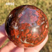 "Jasper Brecciated Sphere, 2"" 0850"