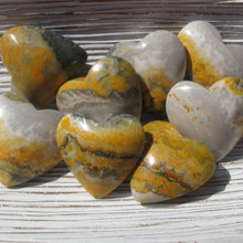 Bumble Bee Jasper Hearts