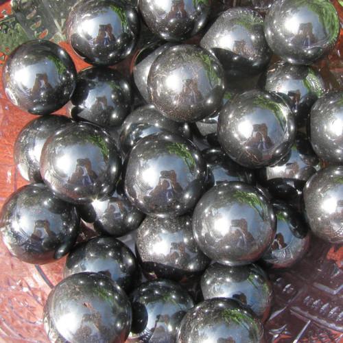 Hematite Spheres, 20mm marble size