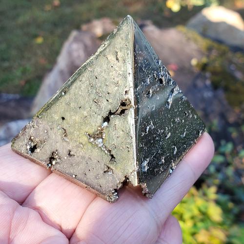 Pyrite Pyramid