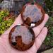 Mahogany Obsidian Palm Stones
