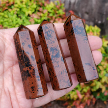 Mahogany Obsidian Polished Points, small