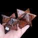 Mahogany Obsidian Merkabas, 2 available