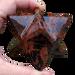 """Mahogany Obsidian Merkabas, 2"""" and 2.3"""""""