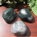 Moss Agate Palm Stones, Therapy Stones