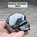 Hematite Skull Medium Sized , right side