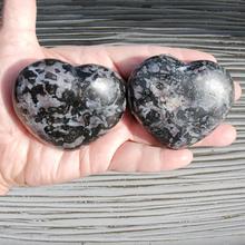 Indigo Gabbro Heart Stones