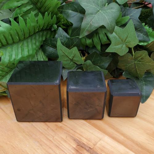 Shungite Cubes, Various Sizes