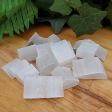 Small Selenite Pieces, package of 10