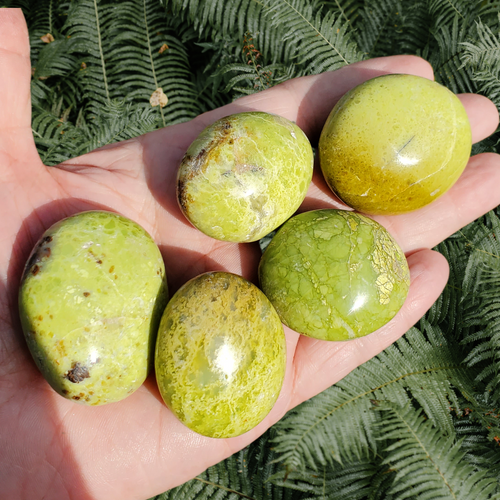 Small Green Opals