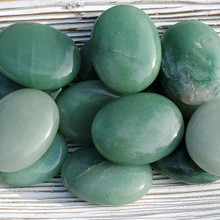 Aventurine Palm Stones, Green Aventurine