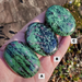 Ruby Zoisite Palm Stones