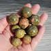 Small Unakite Spheres
