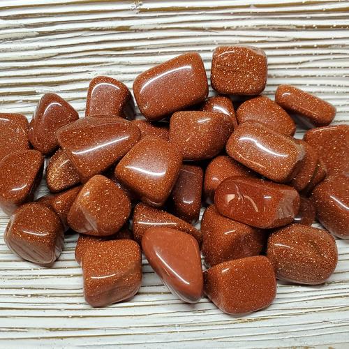Goldstone Tumbled Stones