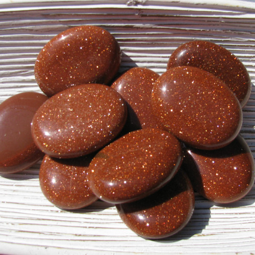 Goldstone Palm Stones