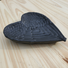 Shungite Angel Wing Heart Shaped Dish