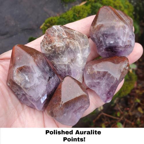 Auralite 23 polished points