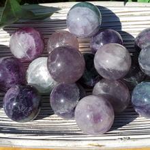 Fluorite 1.2 inch spheres stones, 30mm