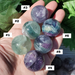 Fluorite 1.2 inch spheres stones, 30mm, numbered 1 to 6 to pick your own sphere