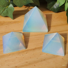 Opalite Large and Small Pyramids