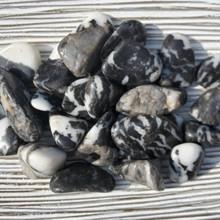 Zebra Jasper Tumbled Stones, Tumbled Zebra Jasper, Zebra Jasper Crystal