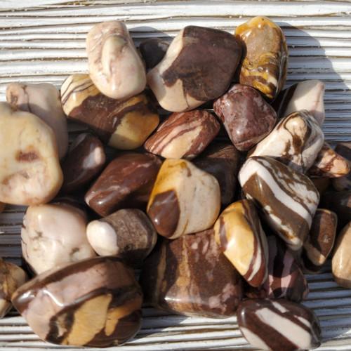 Marble Jasper Tumbled Stones