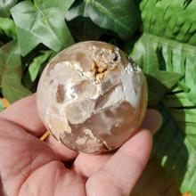 Flower Agate Sphere