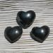 Hematite 30mm Hearts