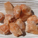 Fiero Calcite Rough Pieces, Small Raw Chunks