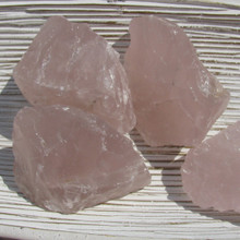 Rose Quartz Rough Chunks