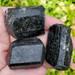 Black Tourmaline Double Terminated Medium pieces