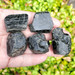 Black Tourmaline Terminated small pieces