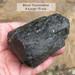 Xlarge Black Tourmaline Double Terminated large piece