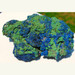 Azurite Malachite Piece