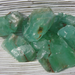 Green Calcite Rough Piece  X-Small