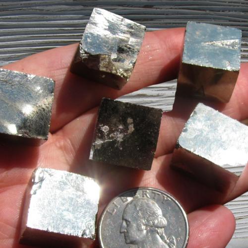 Pyrite Cubes, Fools Gold