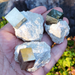 Pyrite Cube Embedded in a Matrix