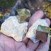 Pyrite Cube in Matrix, Spain