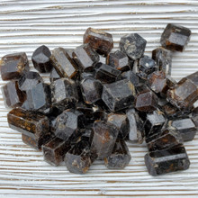 Brown Tourmaline Barrels, Dravite, x-small